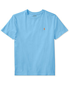 Ralph Lauren Cotton T-Shirt, Big Boys