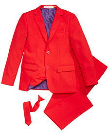 OppoSuits Little Boys 3-Pc. Red Devil Suit & Tie Set