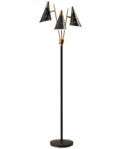 Adesso Nadine 3-Arm Floor Lamp