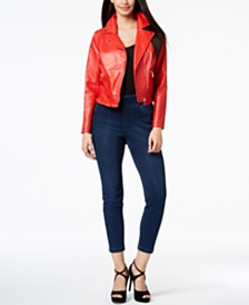 Thalia Sodi Ruffled Moto Jacket & Jeggings, Created for Macy's
