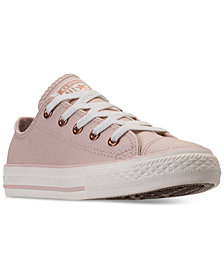 Converse Big Girls' Chuck Taylor All Star Low Top Casual Sneakers from Finish Line