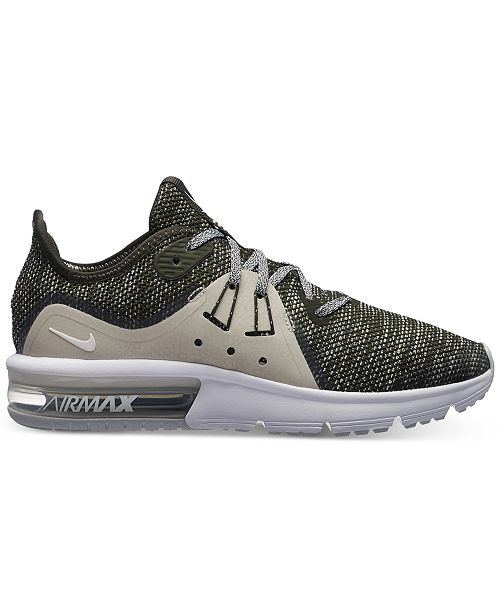 ... Nike Big Boys  Air Max Sequent 3 Running Sneakers from Finish Line ... 11e7871133