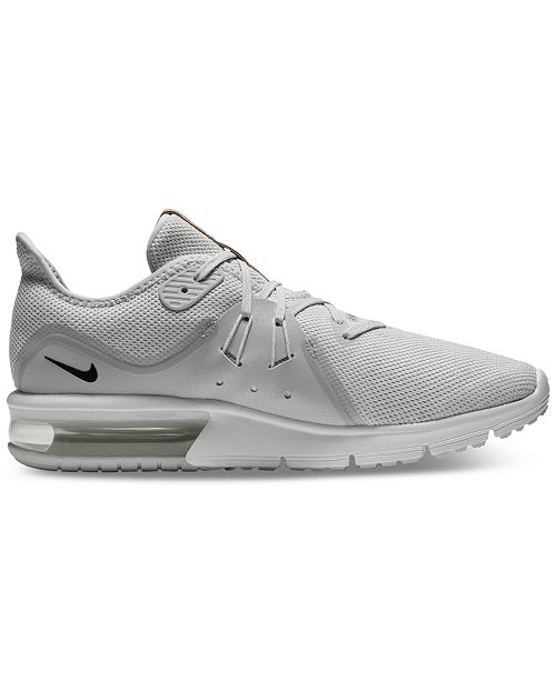 sale retailer 698ba 1acfc Nike. Men s Air Max Sequent 3 Running Sneakers from Finish Line. 15 reviews