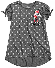 Disney's® Minnie Mouse Dot-Print Top, Big Girls