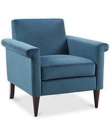 Elena Accent Chair, Quick Ship