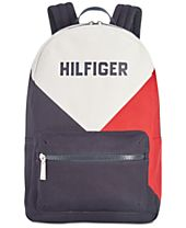 Tommy Hilfiger Men's Logo Canvas Backpack