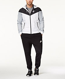 Nike Men's Windrunner Jacket, Dri-FIT T-Shirt, & Logo Joggers