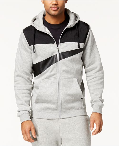 29cdbdd40d2b6 Nike Men s Sportswear Full-Zip Logo Hoodie   Reviews - Hoodies ...