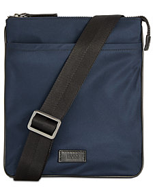 Hugo Boss Men's Zip Envelope Messenger Bag