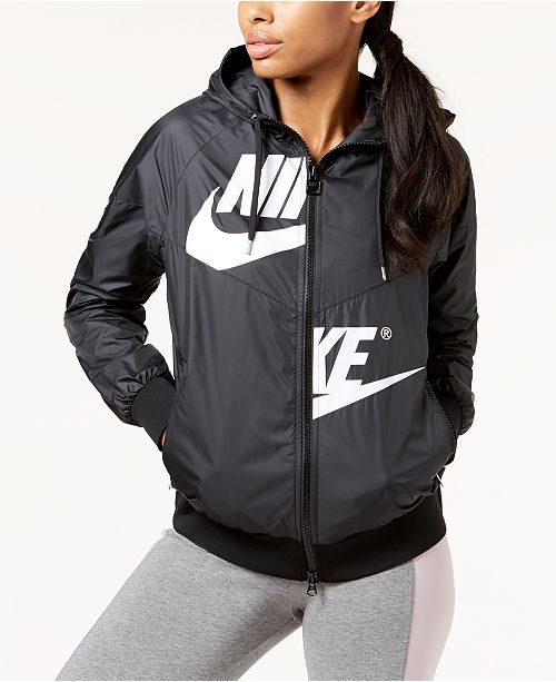 the latest d5dca 5dda8 Windrunner amp  Jackets Sportswear Women Blazers Jacket Macy s Nike vqFwUpZn