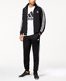 adidas Men's Essential Tricot Track Jacket & Pants