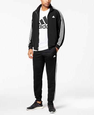 adidas Men's Essential Tricot Track Jacket & Pants