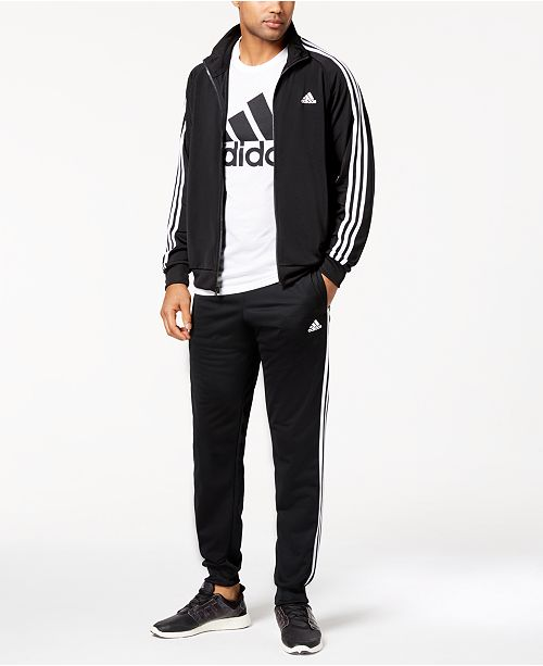 9fd5c355f adidas Men's Essential Tricot Track Jacket & Pants & Reviews - Men's ...
