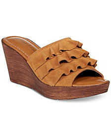 Bella Vita Bey-Italy Wedge Sandals