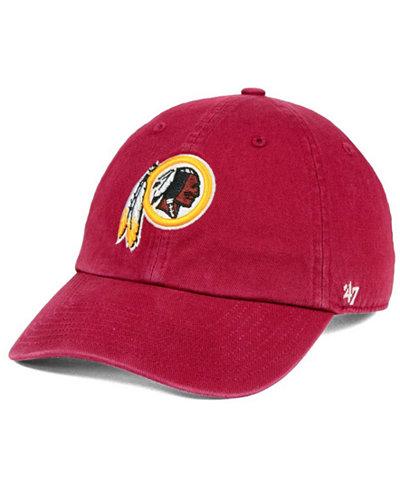 '47 Brand Washington Redskins CLEAN UP Cap