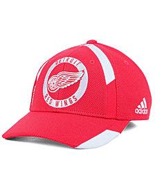 adidas Detroit Red Wings Practice Jersey Hook Cap