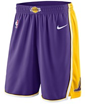 4f62d40f12b Nike Men's Los Angeles Lakers Statement Swingman Shorts