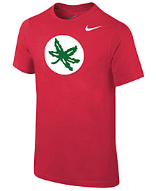 Nike Ohio State Buckeyes Alternate Logo Cotton T-Shirt, Big Boys (8-20)