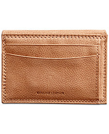 Tasso Elba Men's Garnet Card Case, Created for Macy's