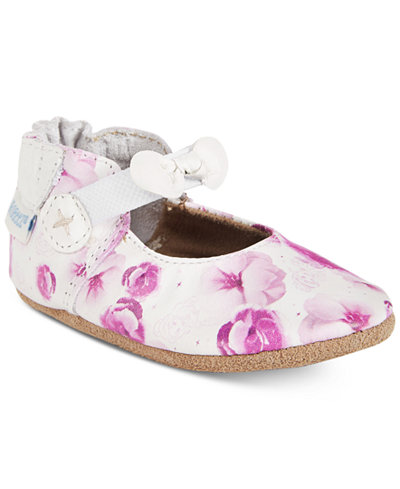Robeez Floral Princess Mary-Jane Shoes, Baby Girls (0-4)