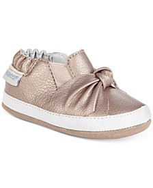 Robeez Bella's Bow Shoes, Baby Girls (0-4) & Toddler Girls (4.5-10.5)