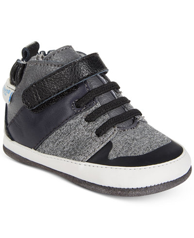 Robeez Zachary High-Top Sneakers, Baby Boys (0-4) & Toddler Boys (4.5-10.5)
