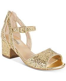 Michael Kors Gemini Jones Dress Sandals, Little Girls & Big Girls