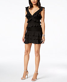 Bardot Babylon Ruffles & Lace Dress