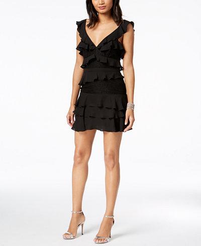 Bardot Babylon Ruffles & Lace Dress