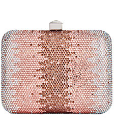 I.N.C. Franckie Ombré Box Clutch, Created for Macy's