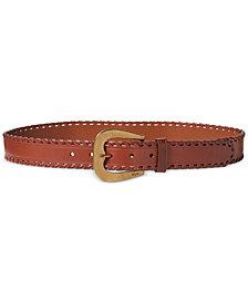 Lauren Ralph Lauren Whipstitched Belt