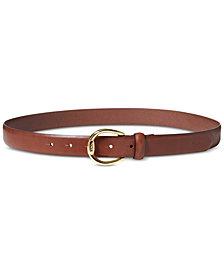 Lauren Ralph Lauren Bennington Leather Belt