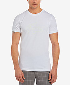 Lacoste Men's Neon Croc Logo-Print T-Shirt