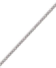Swarovski Bracelet, Round Crystal Tennis
