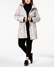 Calvin Klein Plus Size Lightweight Active Rain Jacket