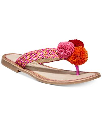 Callisto Pomm Flat Sandals Women's Shoes