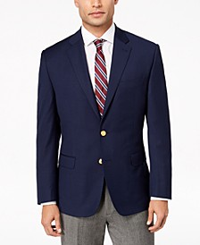 Men's Classic-Fit Ultra Tech Solid 10-Pocket Blazer
