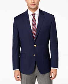 Lauren Ralph Lauren Men's Classic-Fit Ultra Tech Solid 10-Pocket Blazer