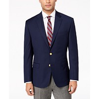 Deals on Lauren Ralph Lauren Mens Classic-Fit Ultra Tech Solid Blazer