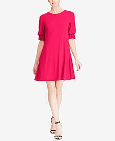 Lauren Ralph Lauren Floral-Print Straight Fit Dress, Regular & Petite Sizes