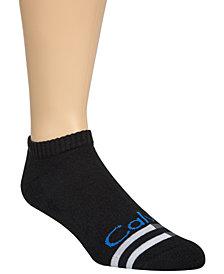 Calvin Klein Men's Logo No-Show Socks