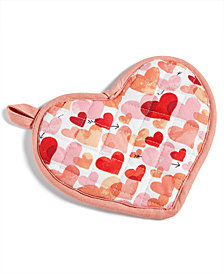 Martha Stewart Collection Valentine's Day Oven Mitt, Created for Macy's