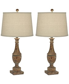 Pacific Coast Collier Table Lamps, Set of 2