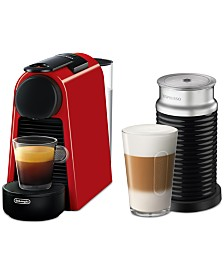 Nespresso by De'Longhi Essenza Mini Espresso Machine with Aeroccino3