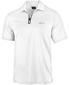 Men's 5 Iron Zip Golf Polo, Created for Macy's