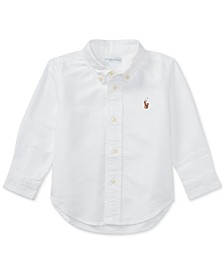 Ralph Lauren Baby Boys Solid Oxford Shirt