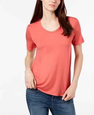 7aa0505265d Eileen Fisher Soft V-Neck T-Shirt