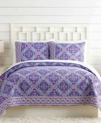 Vera Bradley Purple Passion King Quilt