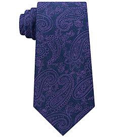 Michael Kors Men's Dancing Halo Paisley Tie