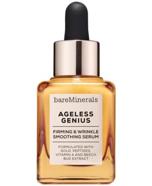Image of bareMinerals Ageless Genius Firming & Wrinkle Smoothing Serum